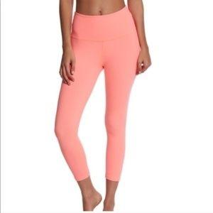 Beyond Yoga High Waisted Coral Pink Leggings